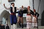 Na Mezinárodním folklórním festivalu v Českém Krumlově vystoupil také soubor z Řecka.