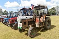 III. Traktoriáda pobavila závodníky i diváky v Horní Plané.