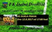 Stará garda Dukly Praha láká příznivce fotbalu na sobotní podvečer k hranicím.