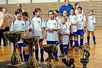 V Loučovicích se konal turnaj fotbalových přípravek.