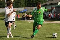 Finálové utkání Českého poháru mužů KFS Jihočeského kraje / Sokol Kamenný Újezd - FK Slavoj Český Krumlov 2:2 (1:0).