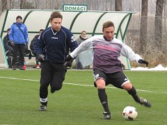 SK Dobrá Voda (modré dresy) - Fk Spartak Kaplice 4:4 (1:2).