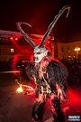 Krampus Show 2015 v Kaplici.