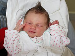 Adéla Jungwirthová, 24. března 2010, 52 cm, 3500 g, Větřní.