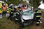 Vážná dopravní nehoda u Chodče.