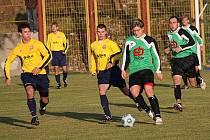 Fotbalové utkání A skupiny oblastní I. A třídy / TJ Smrčina Horní Planá - SK Siko Čimelice 1:2 (0:0).