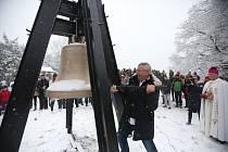 Na Kleti bude zvonit zvon Svobody s podpisem Václava Havla.
