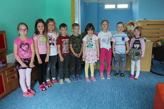 Předškoláci vČerné už mají zápis za sebou, budou chodit do školy vČerné, Frymburku nebo vČeském Krumlově.