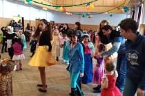 Dětský karneval v Loučovicích.