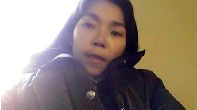 Pohřešovaná Číňanka.