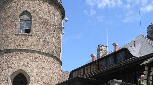 Rozhledna na Kleti, nejstarší rozhledna v republice.