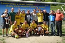 Vítězové AW Reality Cupu ocenili sportovní čin Balvanů.