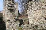Zřícenina hradu Dívčí Kámen leží v nadmořské výšce 47O metr. Hrad byl založen roku 1349 Rožmberky a rozprostírá se na skalnatém ostrohu Křemežského potoka a řeky Vltavy.