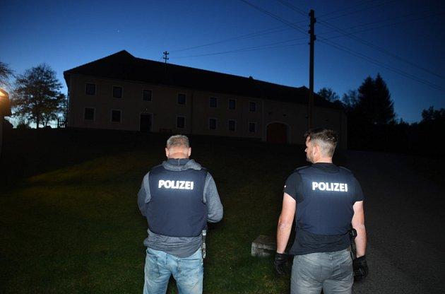 Ubytovna pro uprchlíky, kterou ve Wullowitzu nedaleko Dolního Dvořiště spravuje rakouský Červený kříž.