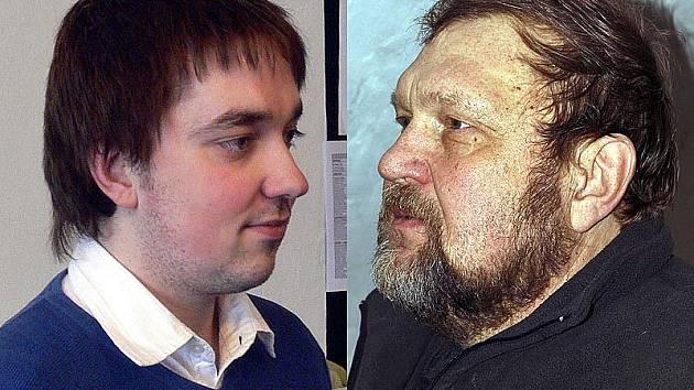 Martin Tröster se ptá Jana Černého.