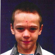 Pohřešovaný jedenáctiletý chlapec Jan Zahradník z Českého Krumlova.
