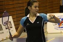 Rozdílovou výhru v partii s USK Plzeň vybojovala krumlovská Lucie Černá, která v souboji dvou juniorských reprezentantek hladce ve dvou sadách zdolala Krejčovou.