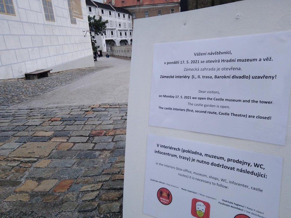 V pondělí 17. května otevírá Hradní muzeum a věž.