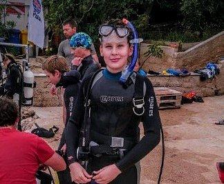 Krumlovský Klub sportovního potápění Kraken vyrazil do Chorvatska na soustředění.