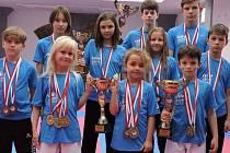 Výprava Karate Panthers Český Krumlov vybojovala na MS v Bulharsku čtyřiadvacet cenných kovů.