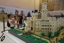 Lego výstava v Amenity resortu v Lipně nad Vltavou