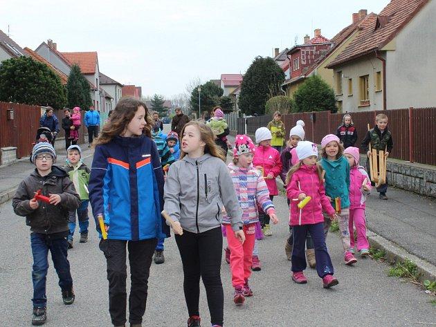 Velikonoční řehtání v Katovicích.