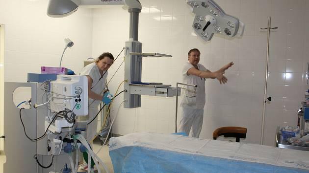 Porodnice včetně novorozeneckého a dětského oddělení a gynekologie jsou přestěhované do nových prostor českokrumlovské nemocnice.