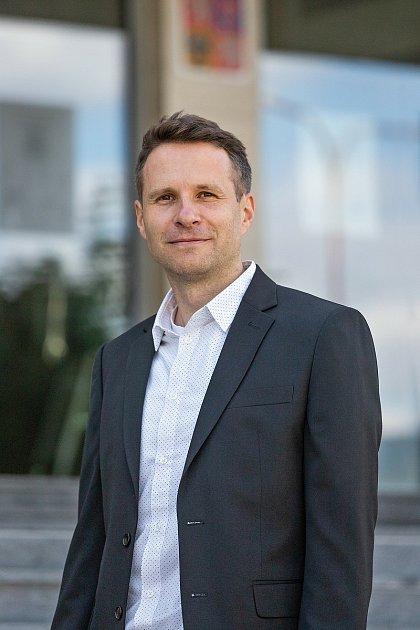 Nový tajemník Městského úřadu vČeském Krumlově Jan Lippl.