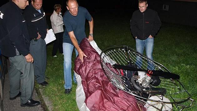 Ilustrační foto, nehoda paraglidisty v Loučovicích.
