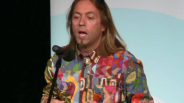 Quincy Russell na vyhlášení Ekofilmu 2010.