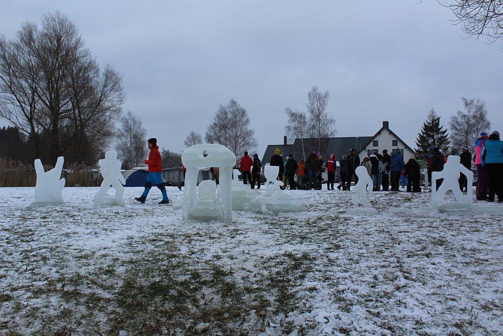 Lipno Ice Marathon prověřil na osm desítek borců, kteří nejsou z cukru.