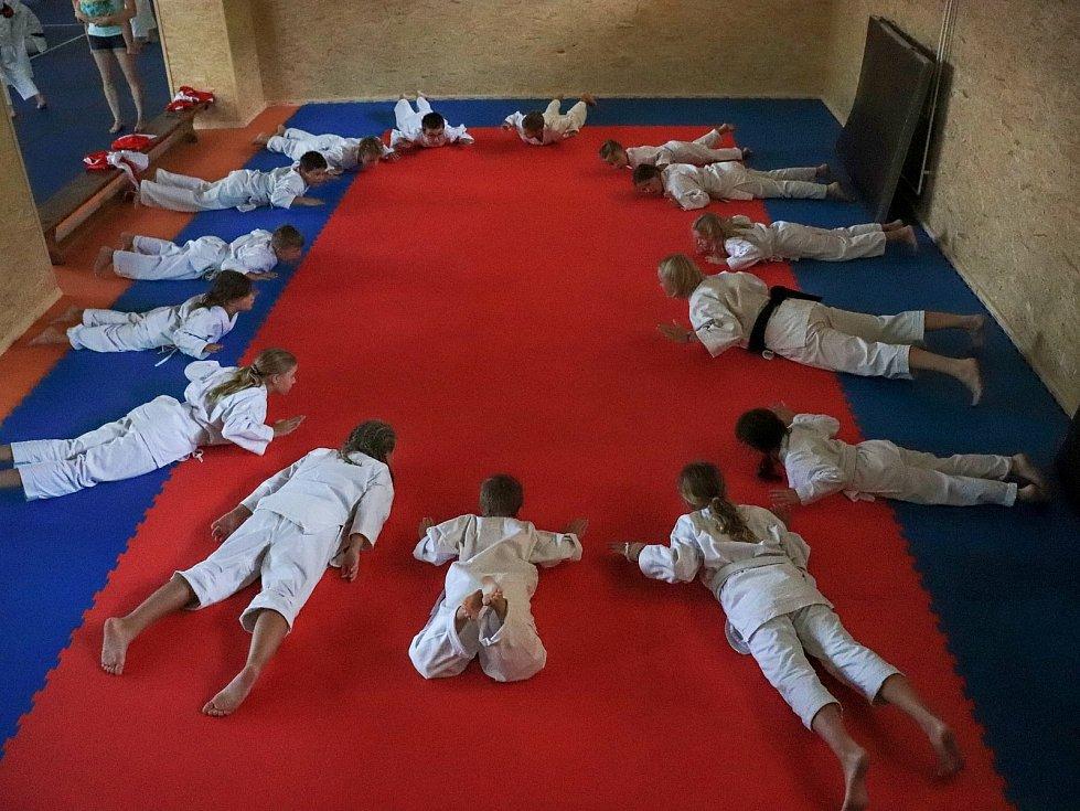 Mladí členové českokrumlovského Shotokan karate klubu se zúčastnili letní školy karate v Hořicích na Šumavě.