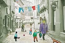 """Cílem projektu Kateřiny Šedé je osídlit na tři měsíce několik bytů  lidmi, kteří budou mezi turisty provozovat """"normální život"""". Poukáže tak na to, že právě on z ulic města pomalu, ale jistě mizí."""