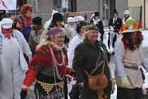 Hornoplánští masopustníci slavili dvacáté výročí.