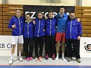 Nejúspěšnější sportovci Českokrumlovska za rok 2018 - nejlepší kolektiv SK Badminton Český Krumlov.