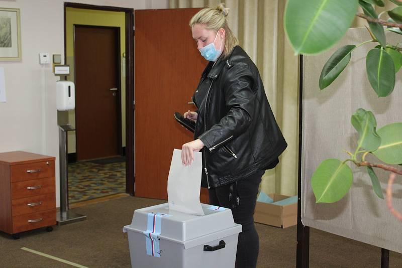 Volby v Dolním Třeboníně.