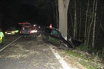 Další dopravní nehoda u Netřebic se stala desátého července nad ránem.