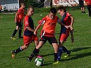 OP starší přípravky (5+1) – poslední 26. kolo: Sokol Křemže / SK Holubov (oranžové rozlišováky) – FK Nová Ves / Brloh 16:3.