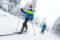 Běžkaři na jihu Čech teď mají svou pravou sezónu. Ilustrační foto.