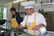 Kuchařské čarování Petra Stupky je možné sledovat v Dolním Dvořišti.