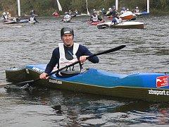 Závodníci z deseti zemí se zúčastnili Krumlovského vodáckého maratonu 2008. Na startu byl ve Vyšším Brodě i Slovák Ján Rusnák.