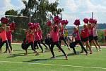 Na sportovním odpoledne v Horní Plané byly k vidění ukázky tréninku sportovních kroužků a vystoupení cvičení spompony.