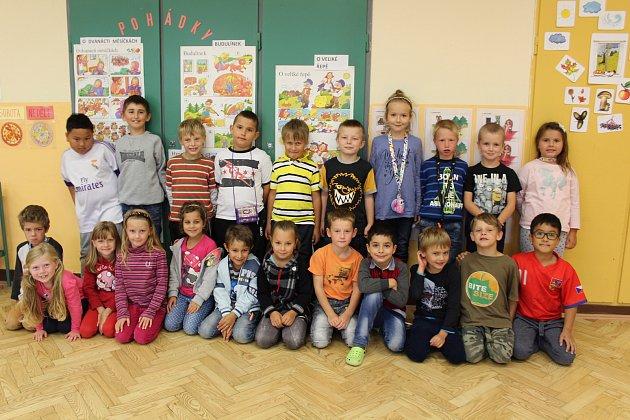 1. třída ZŠ Benešov nad Černou.