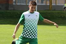 Martin Svoboda se postaral o úvodní trefu českokrumlovských fotbalistů v souboji se Strakonicemi.
