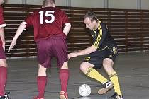 Střelecky disponovaný Rudolf Weinhard zaznamenal v utkání se Stonavou čtyři branky a zařadil se mezi nejlepší střelce první futsalové ligy.
