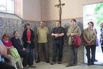 Kaple sv. Voršily v Křemži.