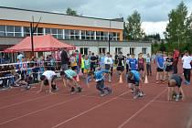 Na atletickou olympiádu dorazilo 250 žáků