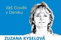 Zuzana Kyselová - Váš člověk v Deníku.