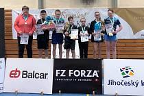 Vítězné družstvo 31. ročníku Českokrumlovského poháru – první tým jižních Čech.