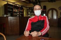 Postupně představujeme provozovatele restaurací na Českokrumlovsku, na snímku je Marek Špát, který provozuje restauraci Plevno v Krumlově.